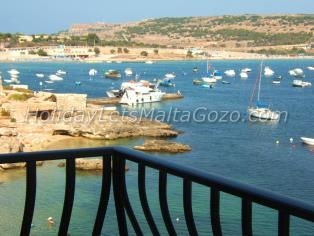 Holiday Let Malta Mellieha Sea Front Apartment seafront apartment - tunnara