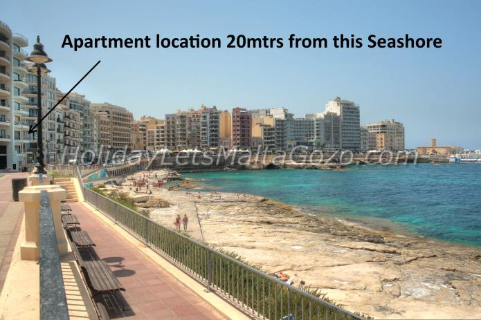Holiday Let Malta Sliema Apartment laida apartment